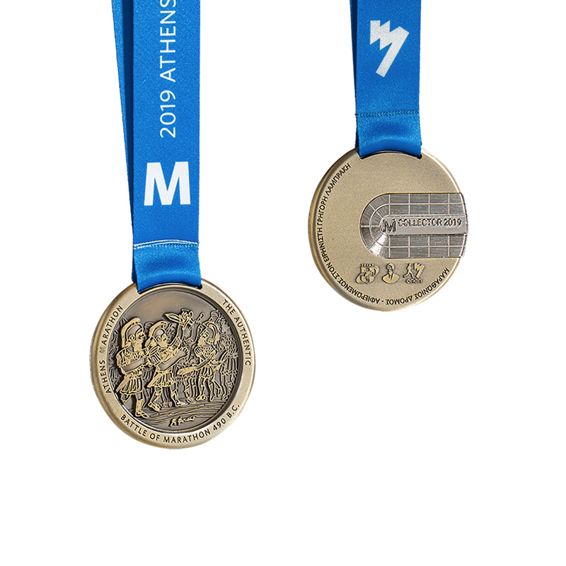 image showing collector items Athens Marathon The Authentic medals