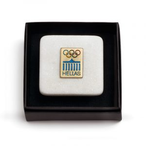 The Olympic Rings Marble Stand
